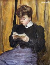 "Photo: Pierre Bonnard, ""Donna che legge un libro"" (1905)"
