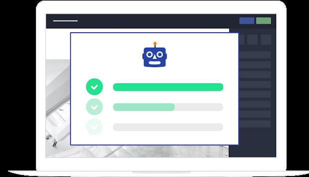 Assistant de création de site internet responsive