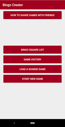 Bingo Creator 1.2.0 screenshots 1