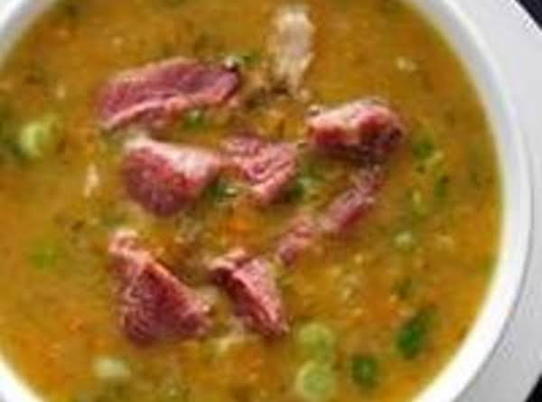 Split Pea Soup With Spare Ribs
