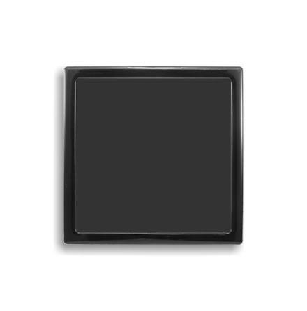 DEMCiflex magnetisk filter 210mm, firkantet, sort
