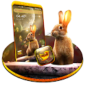 Rabbit in Space Launcher Theme icon