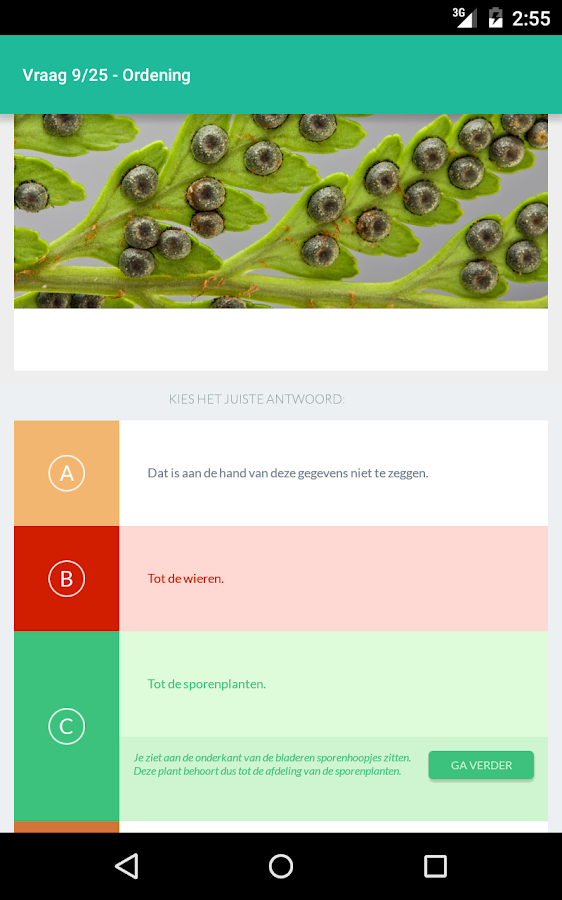 AppWijs Biologie- screenshot