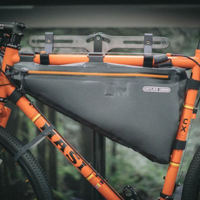 bikepacking: sacoche de cadre