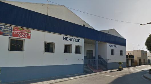 Imagen captura de la fachada del Mercado Municipal de La Mojonera.