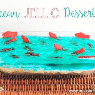 Ocean Jell-o Dessert