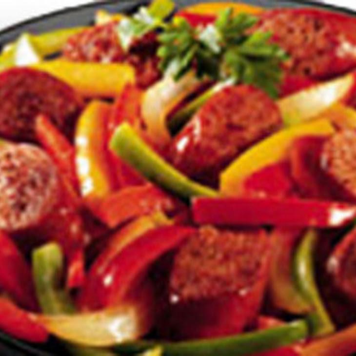Italian Sausage & Pepper Medley Recipe