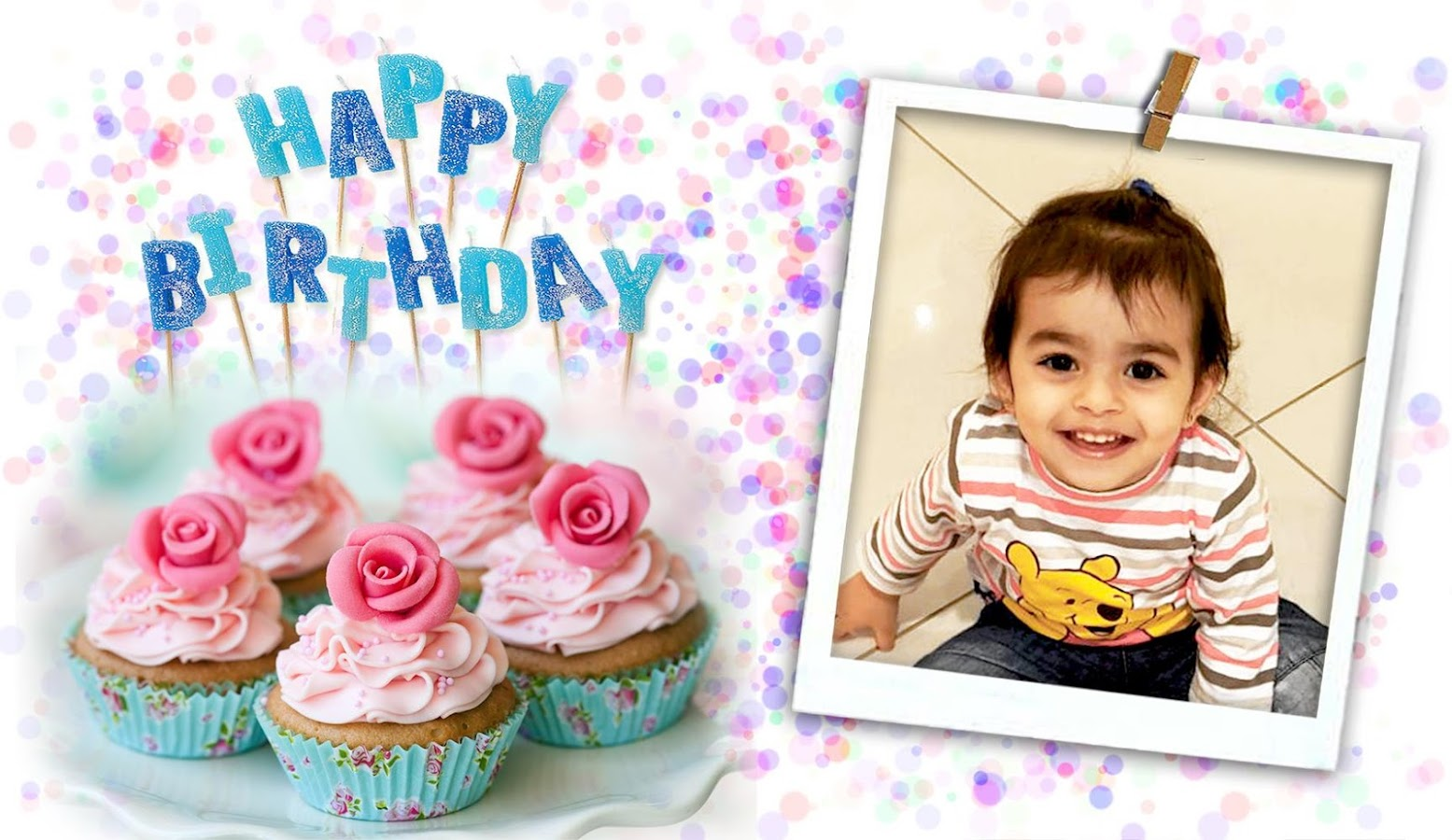 happy birthday photo frames screenshot