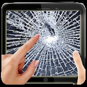 App Broken Screen Scare Crack Fake APK for Kindle