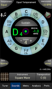 TonalEnergy Tuner- screenshot thumbnail