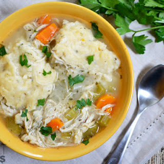 Slow Cooker Chicken & Dumplings Recipe
