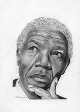 """Photo: Nelson Mandela (dit """"Madiba"""")"""