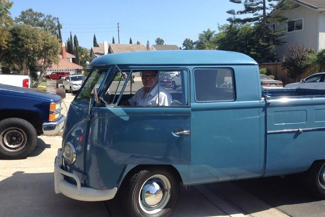 1961 VW Microbus Truck Hire CA
