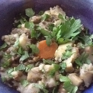 "Pressure Cooker White Winter Vegetable and Spring ""Clean Out"" Stew"
