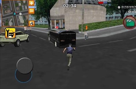 Police bus prison transport 3D