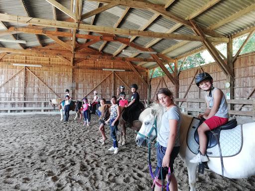 Cours d'équitation au Galauzoue