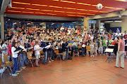 "Photo: 1. Gesamtprobe ""Carmina burana""  Aula des Pius-Gymnasiums, Aachen / 29. 05.2010"