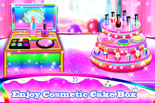 Makeup kit cakes : cosmetic box makeup cake games 1.0.4 screenshots 12