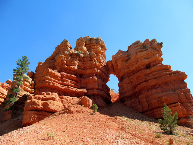 Arch in Red Canyon