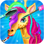 Jungle Star Animal Pets Beauty Salon Icon