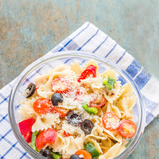 Bow Tie Pasta Salad With Italian Dressing Recipes