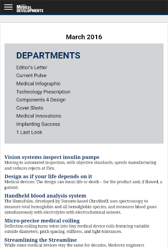 Today's Medical Developments screenshot 8