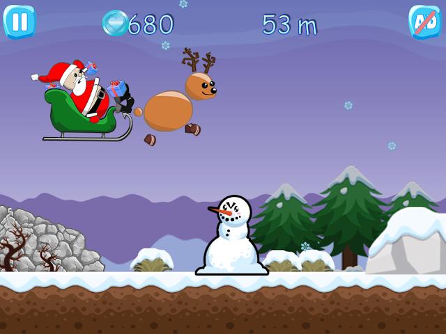 android Xmas Ride - Santa Escape Screenshot 8