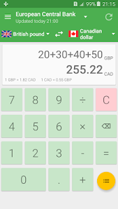 Currency Converter Calculator v1.4 (Pro)