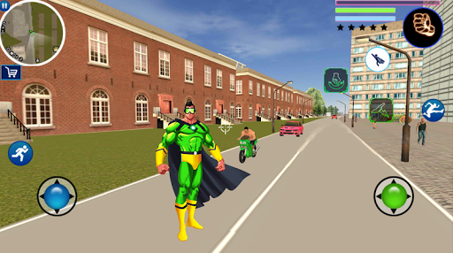 Us Super Hero Vegas Vice Town Gangstar Crime City screenshot 1