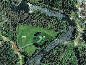Photo: Oynaa (Recent Satellite View after farm buildings were demolished)