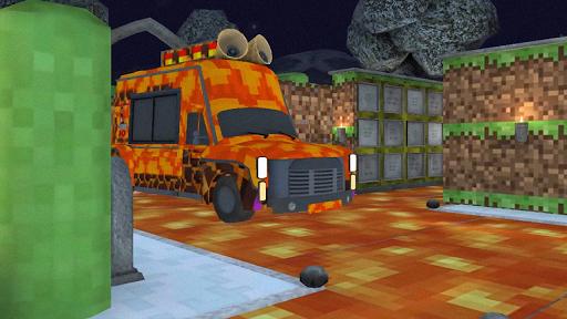 Hello Ice Scream Craft Neighbor For MCPE screenshot 2