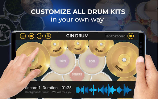 Drums Pro 2020 - The Complete Simulator Drum Kit 2.2.2 screenshots 5