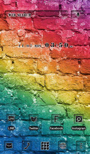 Colorful Bricks +HOME Theme 1.0.0 Windows u7528 1