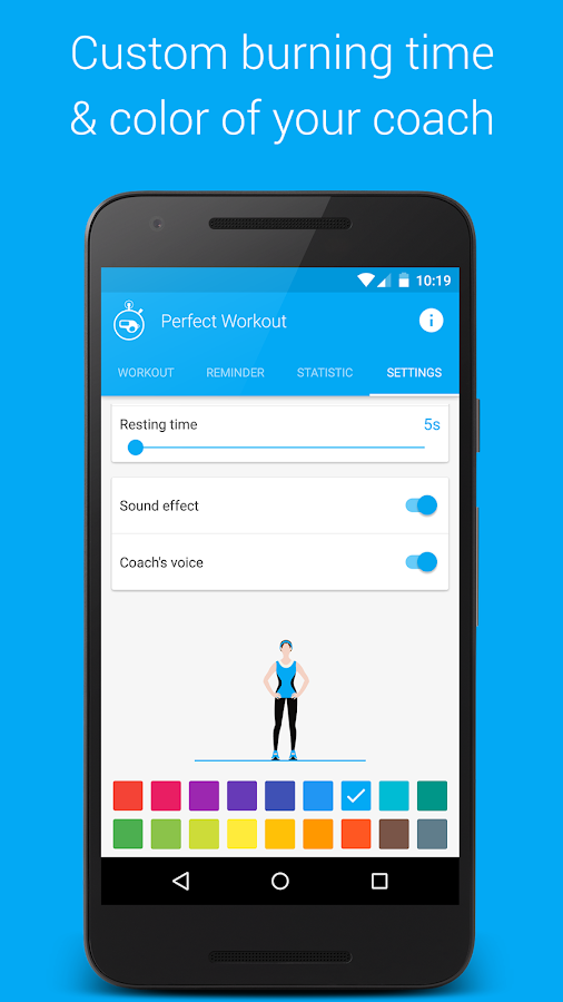 Perfect Workout - Free Fitness- screenshot