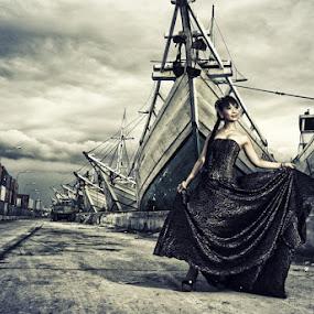 Katherine Ernawati by Teraku Nomiya - People Fine Art ( fashion, model, fine art, people )