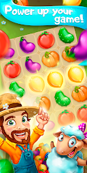 Funny Farm match 3 Puzzle game! APK screenshot thumbnail 4