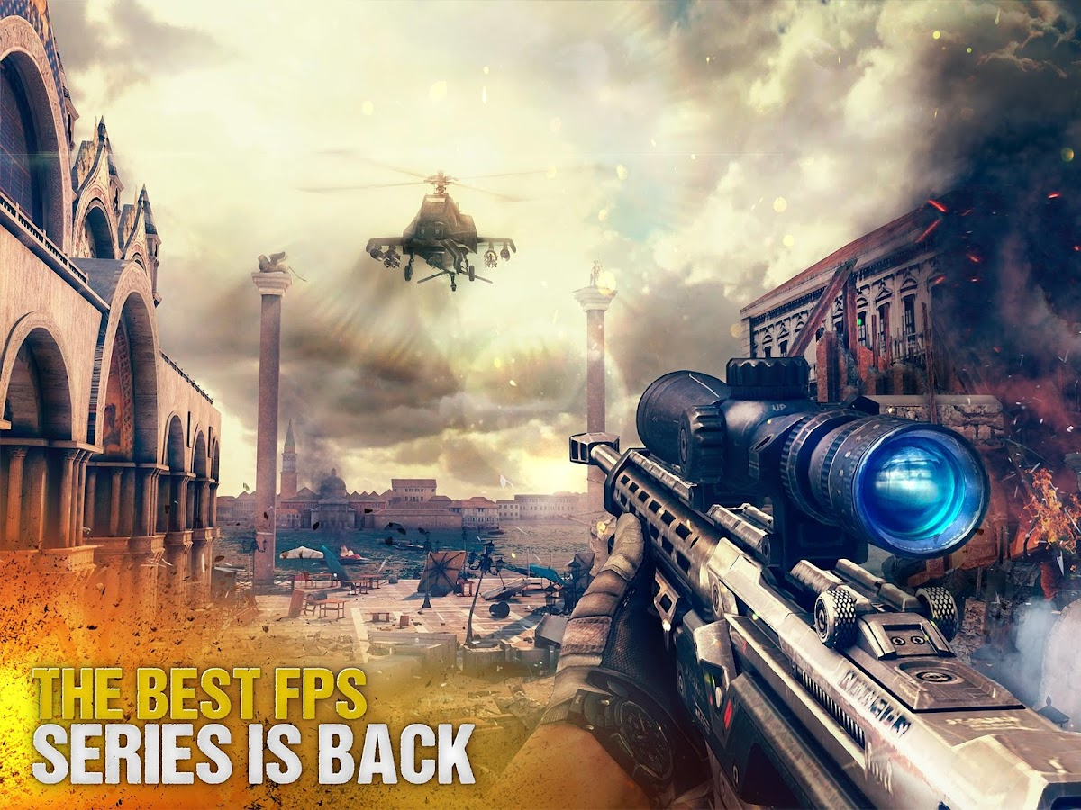 Screenshots of Modern Combat 5: Blackout for iPhone