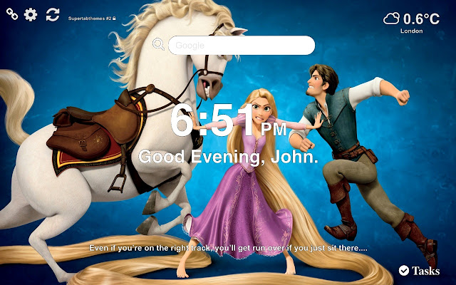 Tangled Wallpapers and New Tab Themes
