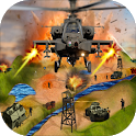 Gunship Air Helicopter War 3D - Real Sky Fighter icon