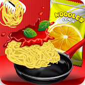 Noodles Pizza Fast Food Street