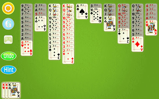 Spider Solitaire Mobile  screenshots 13