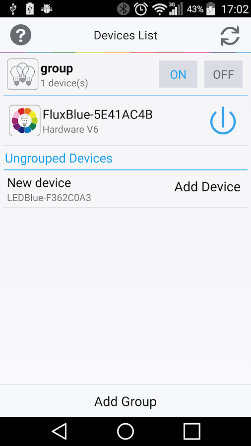 Flux Bluetooth- screenshot