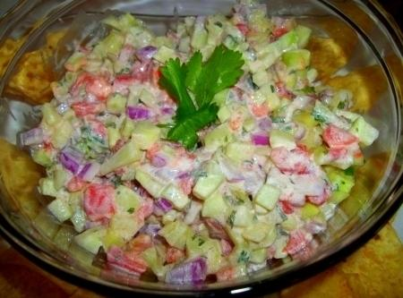 Delicious  Creamy Cucumber Salsa Recipe
