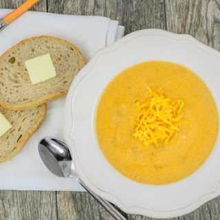 Cheddar Ale Soup with Ham and Potato
