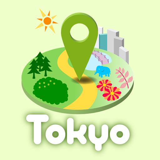 TokyoParksNavi,體驗別有風味的公園散步 旅遊 LOGO-玩APPs