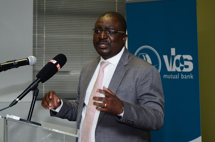 Tshifhiwa Matodzi, chairman of VBS Mutual Bank at The Core in Sunninghill.