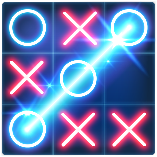 Tic Tac Toe Glow (game)