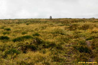 Photo: Shortly after the trig point straight ahead