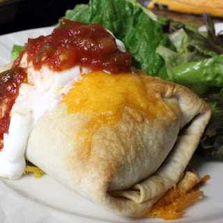 Baked Chimichanga.