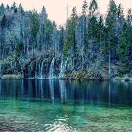 Plitvice lakes by Goran Gašparac - Landscapes Waterscapes ( croatia, cozy, waterfall, plitvice, turquoise, water, lake )